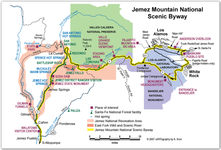 Jemez Mountain Trail National Scenic Byway | Visit Los Alamos