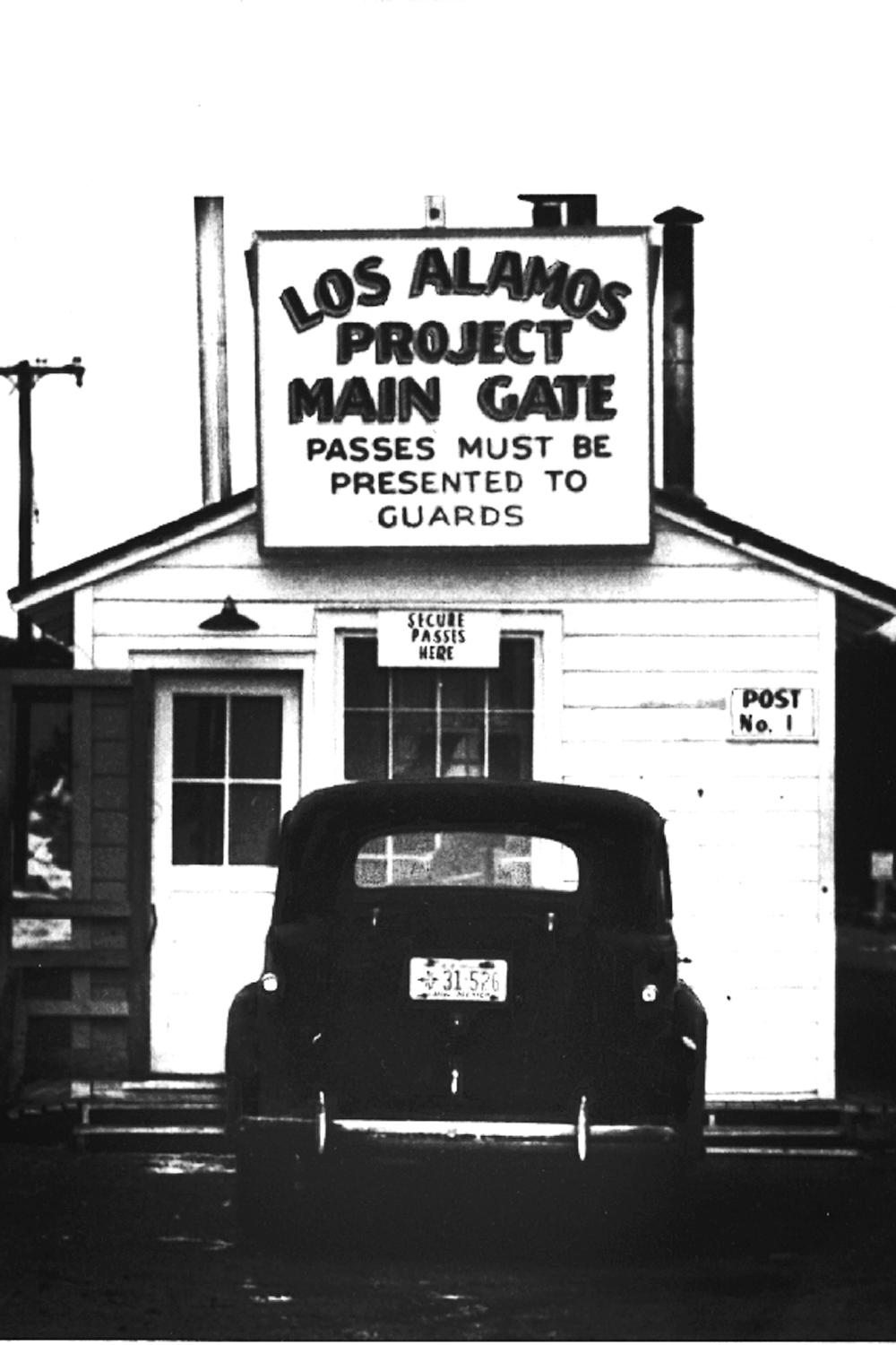 Checkpoint at Main Gate to the Secret City
