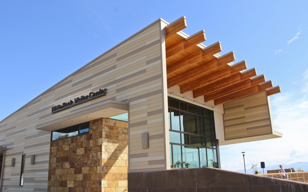 White Rock Visitor Center Opening Sept. 28,  Offers RV Parking & Transit to Bandelier