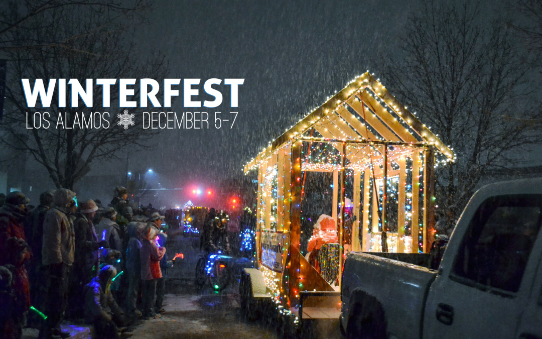 Los Alamos Winterfest Features Lights Parade